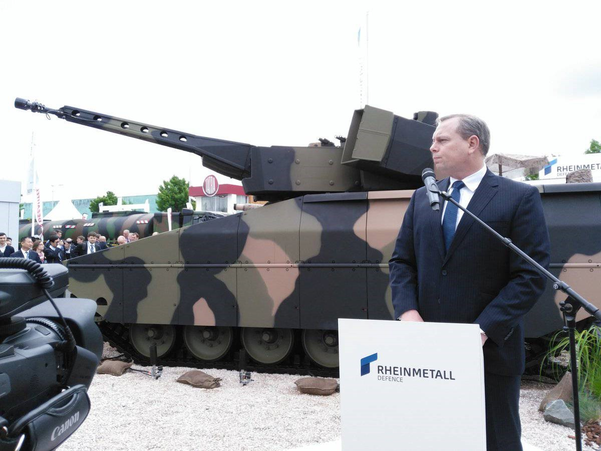 БМП Lynx на выставке бронетехники