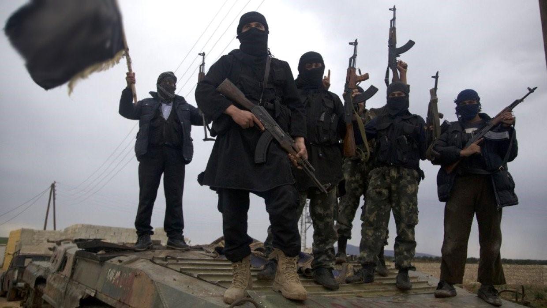 Боевики «Хайат Тахрир аш-Шам»