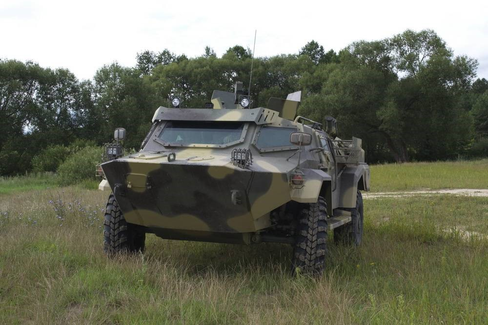 Бронеавтомобиль белорусской армии «Кайман»