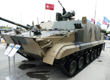 БТР БТ-3Ф на конференции «Армия-2016»