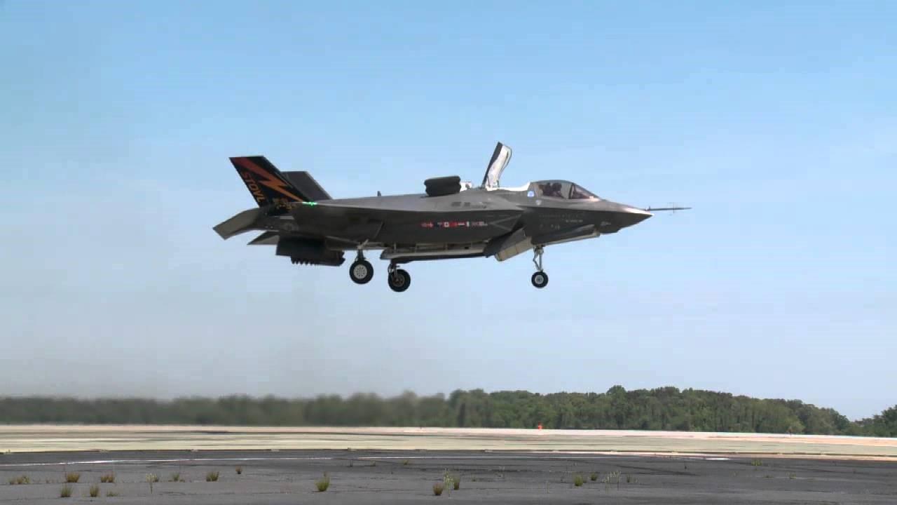 F-35B в полете