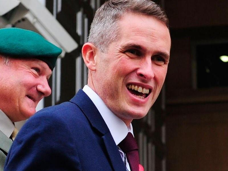 Гэвин Уильямсон, министр обороны Великобритании