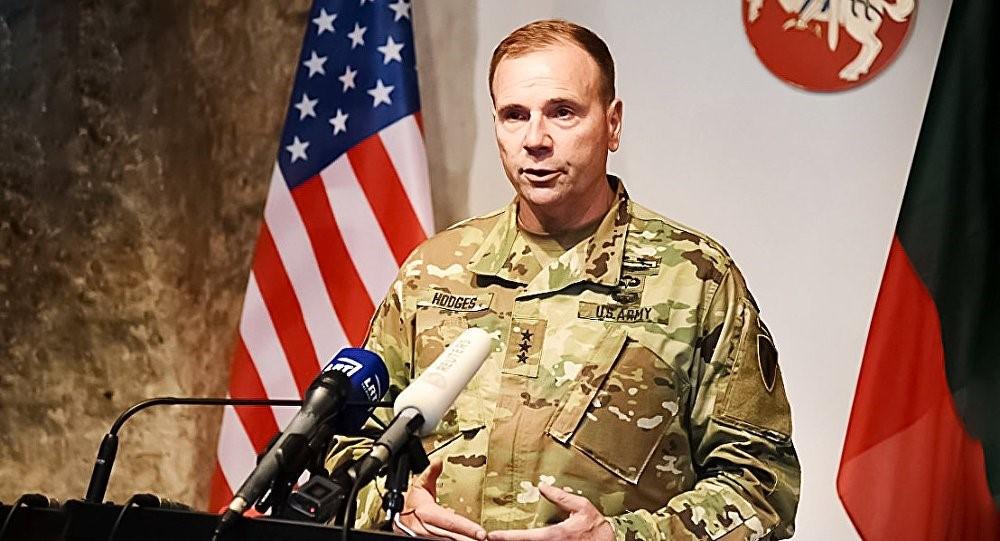 Генерал армии США Бен Ходжес