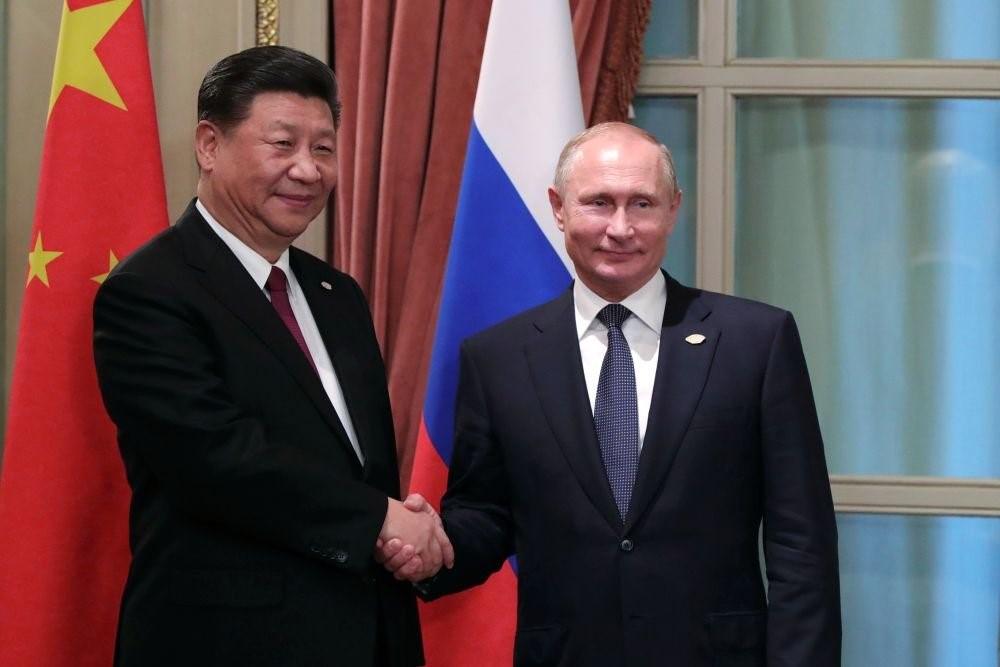 Главы РФ и КНР