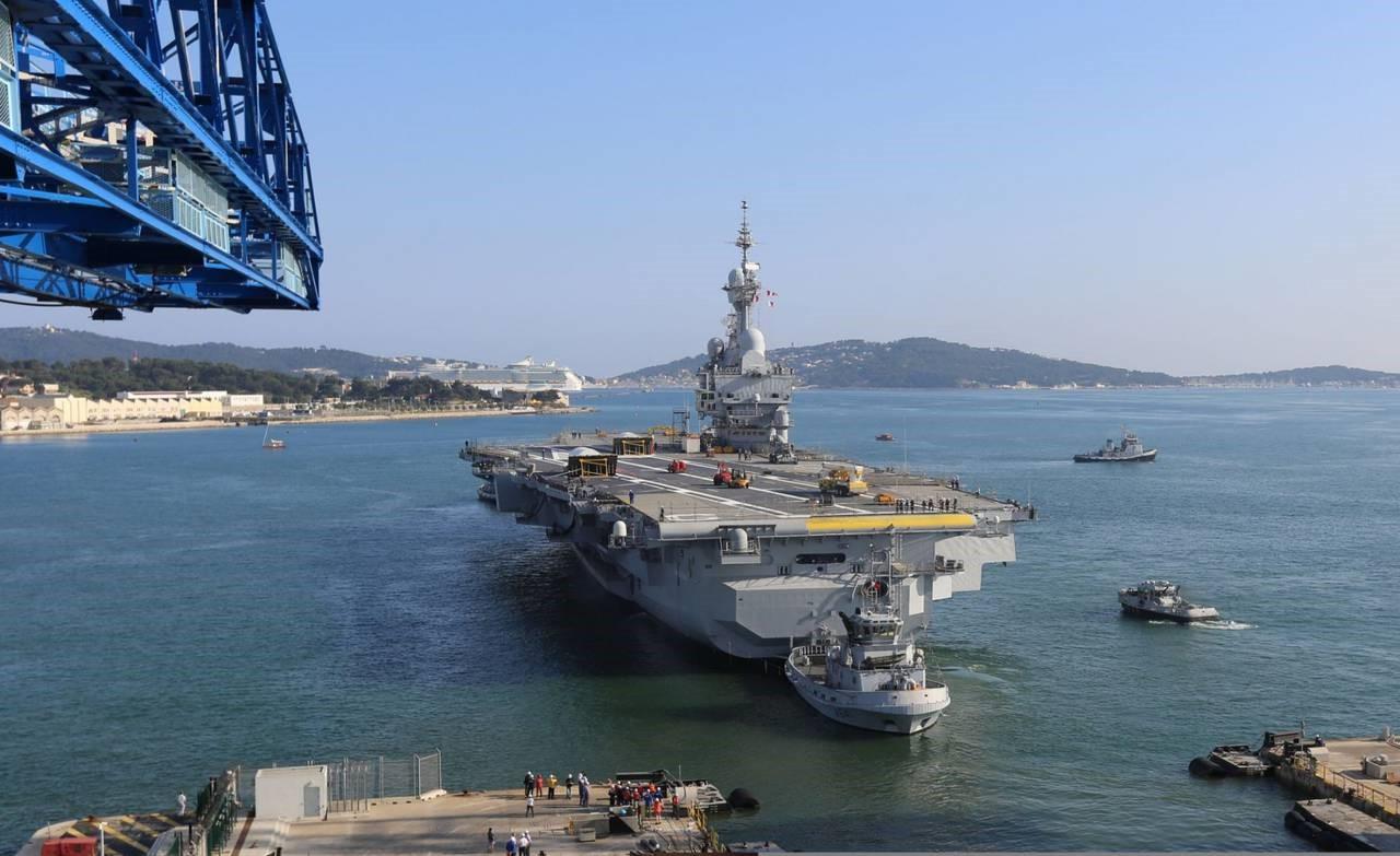 Гордость американского флота - авианосец «Джеральд Форд»