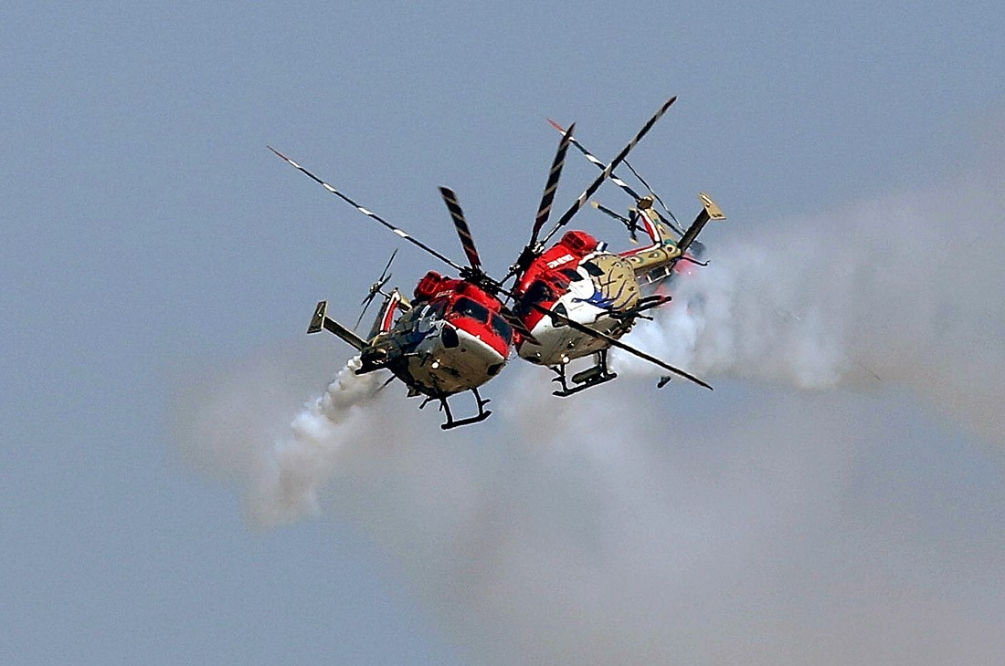 Индийские вертолеты Dhruv
