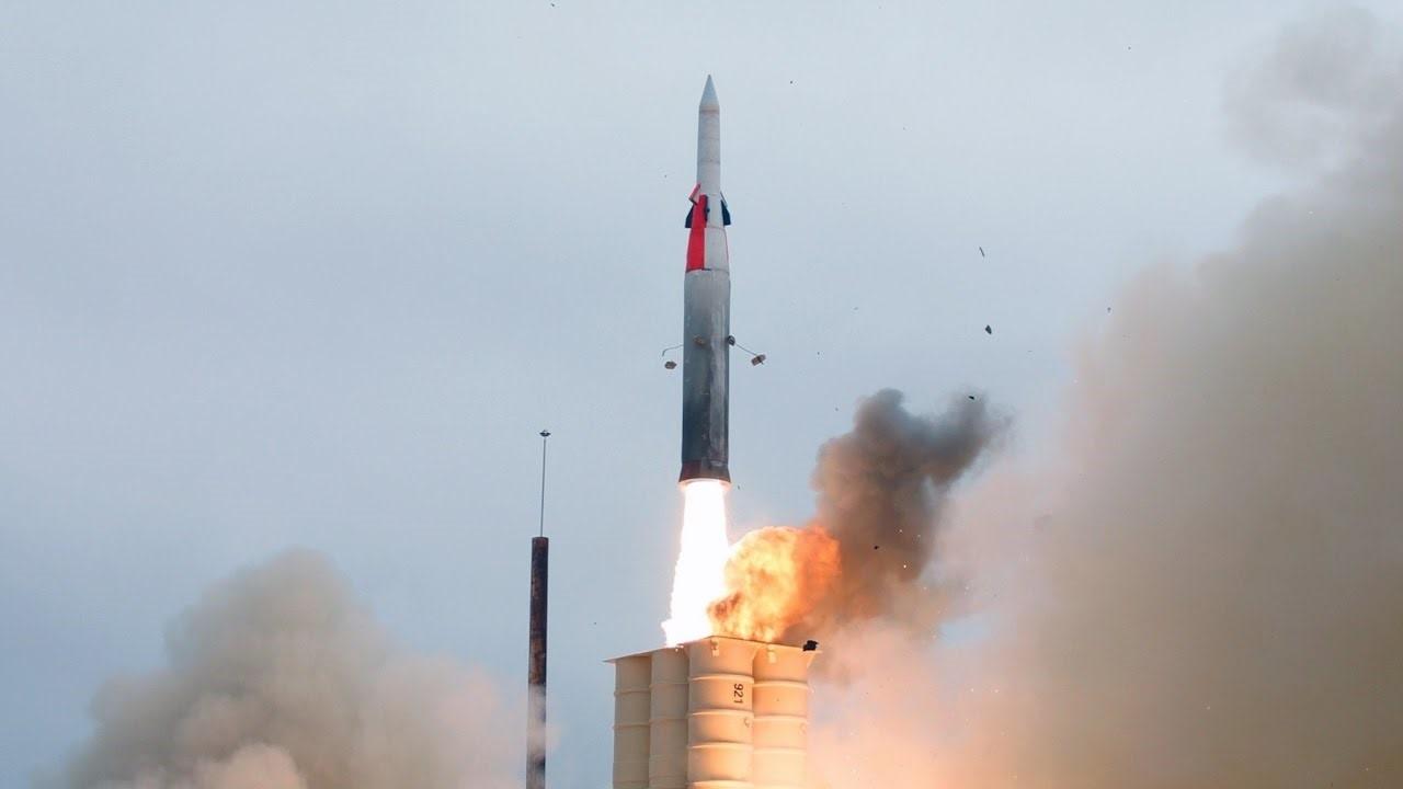 Испытания ракеты С-400 в Китае