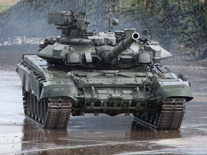 Испытания танка Т-90С
