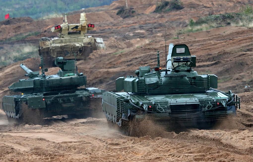 Испытания танков