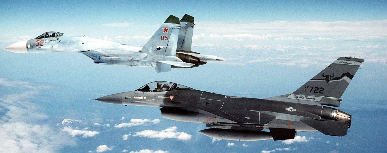 Истребители РФ и НАТО