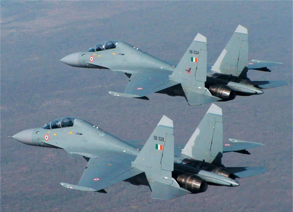 Истребители ВВС Индии