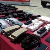 Изъятые оружие и боеприпасы