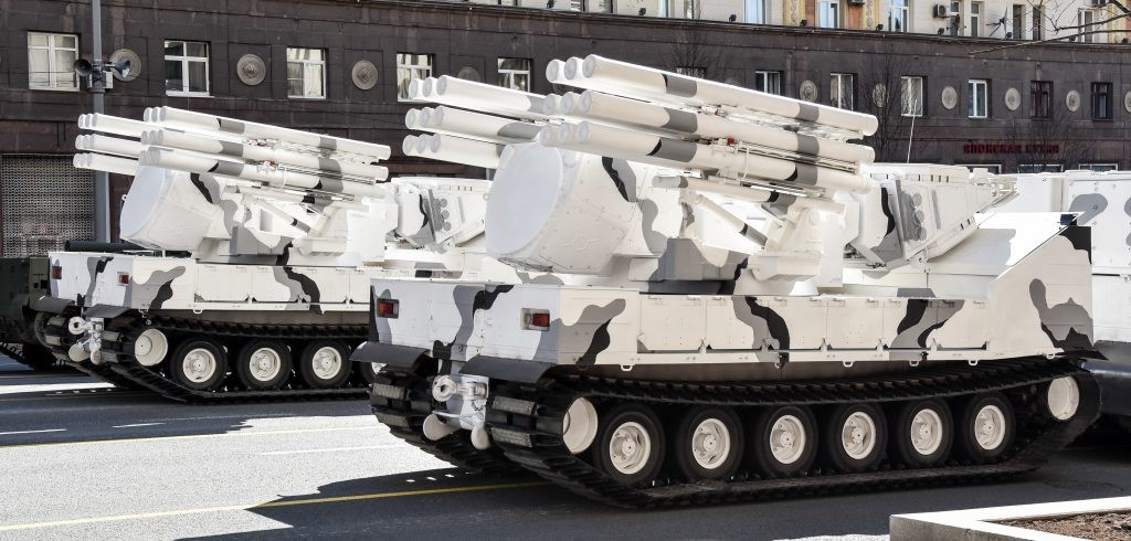 Комплексы ПВО «Тор-М2ДТ»