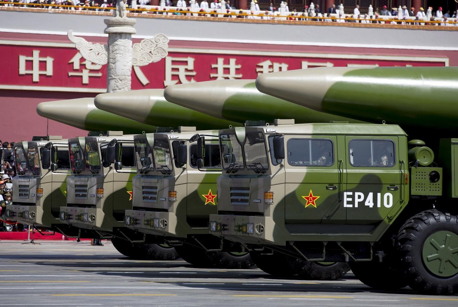 Комплексы ракет КНР DF-26