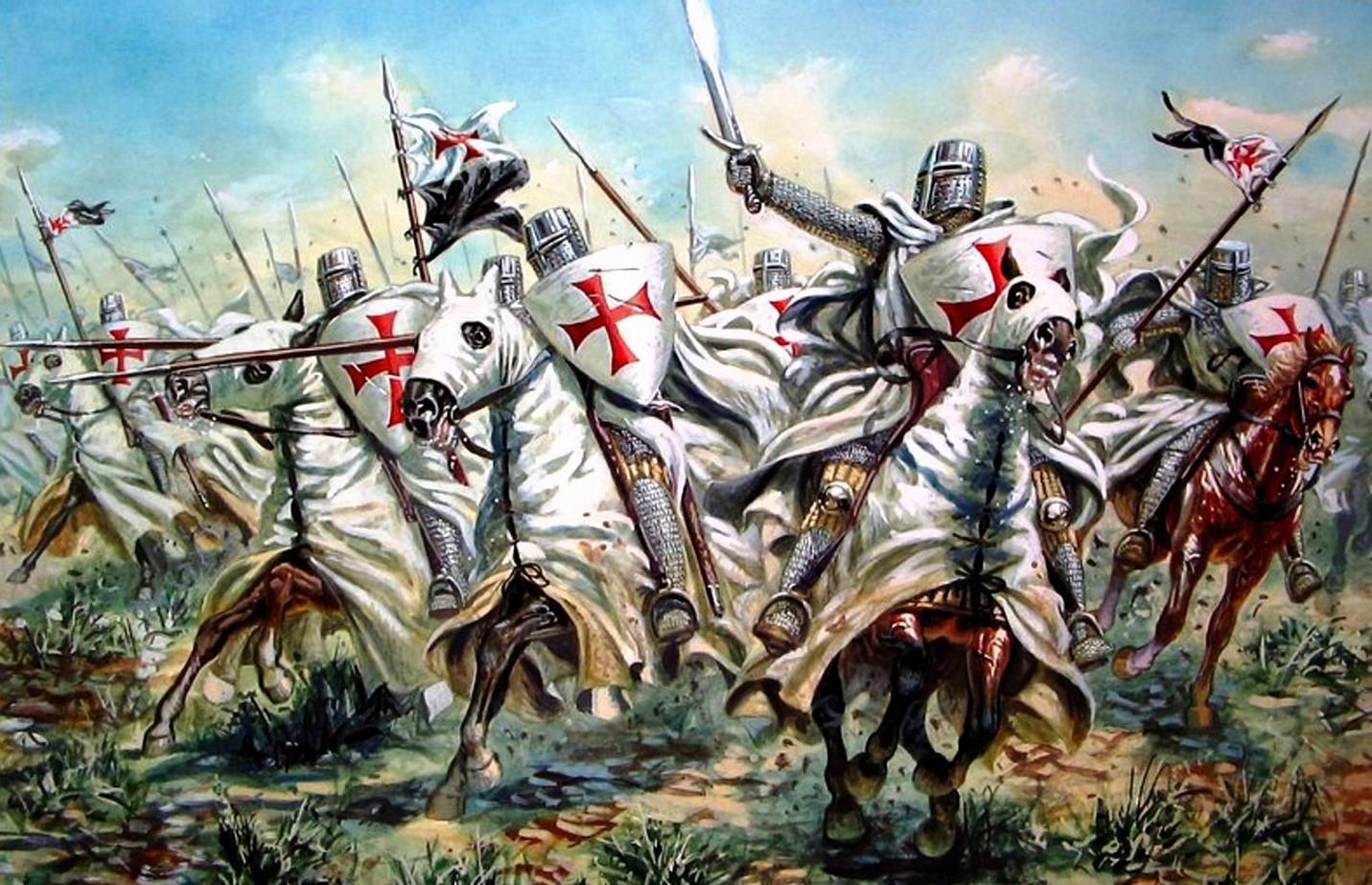 Конница крестоносцев