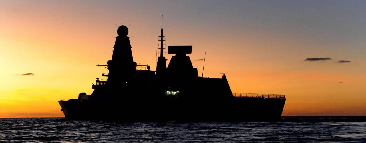 Корабль со «Спрут-Н1»