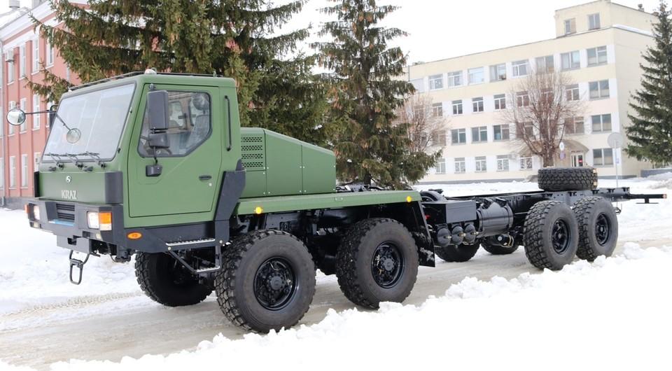 КрАЗ-7634НЕ