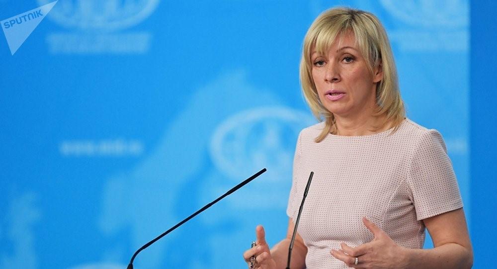 Мария Захарова, представитель российского МИДа