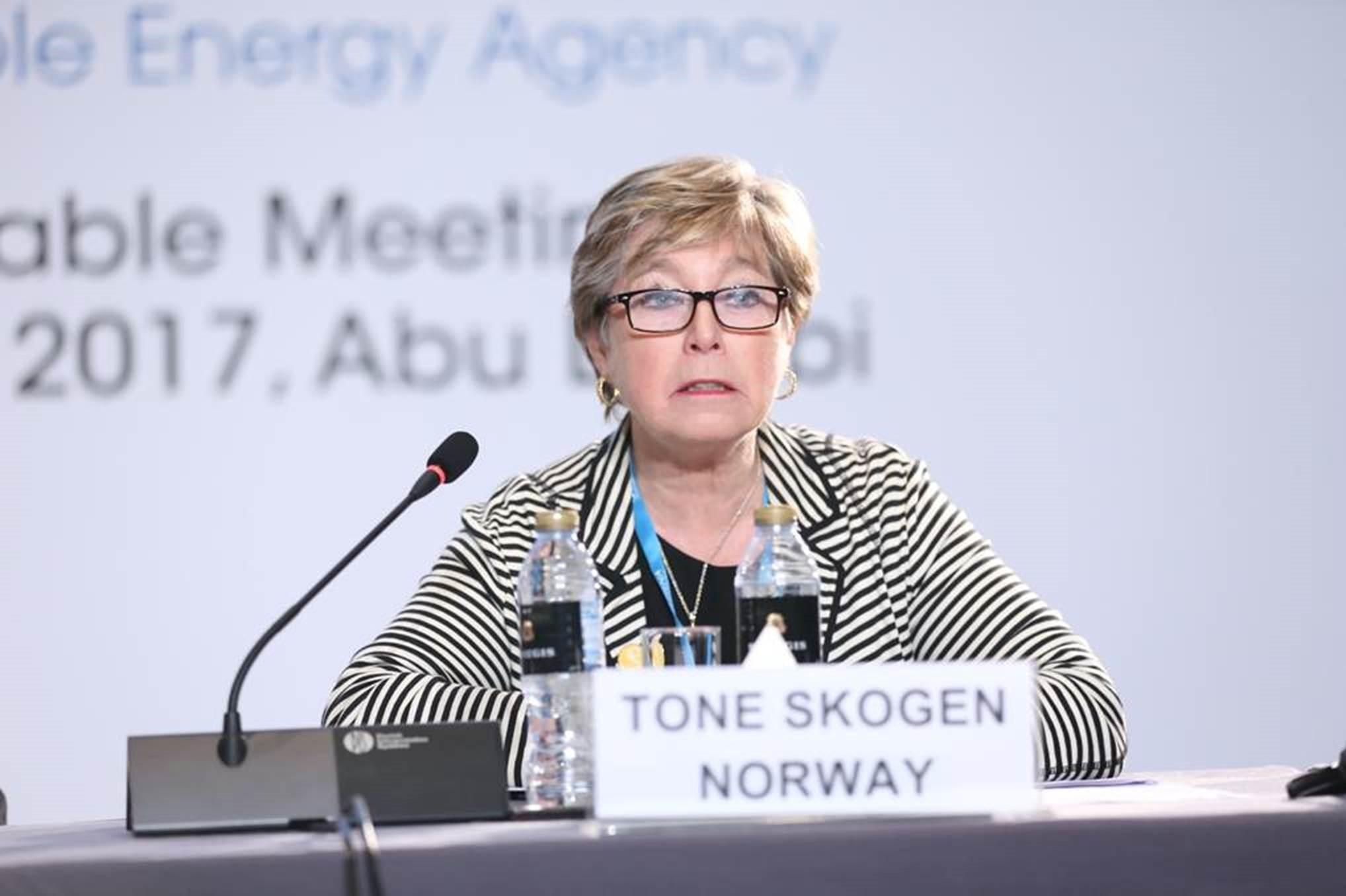 Министр Обороны Норвегии Тоне Скоген