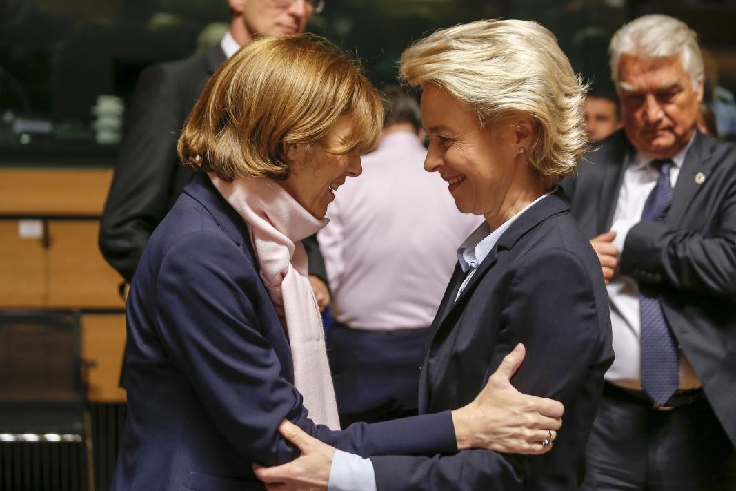 Министры обороны Франции и Германии