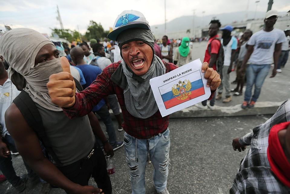 Митинги протеста в Порт-о-Пренс