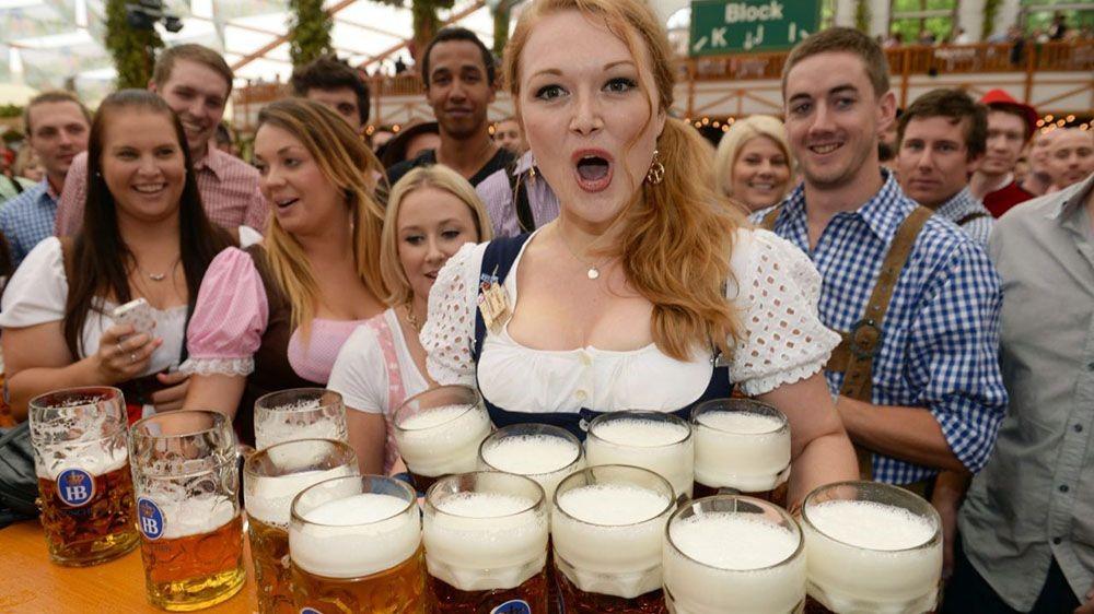 Немецкий фестиваль пива