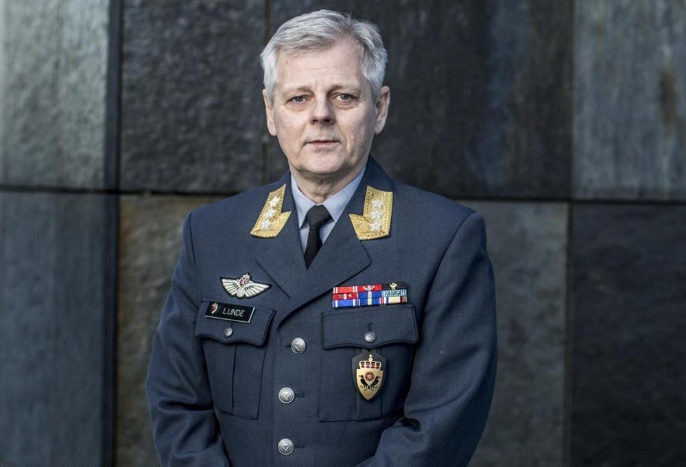 Норвежский генерал Лунде