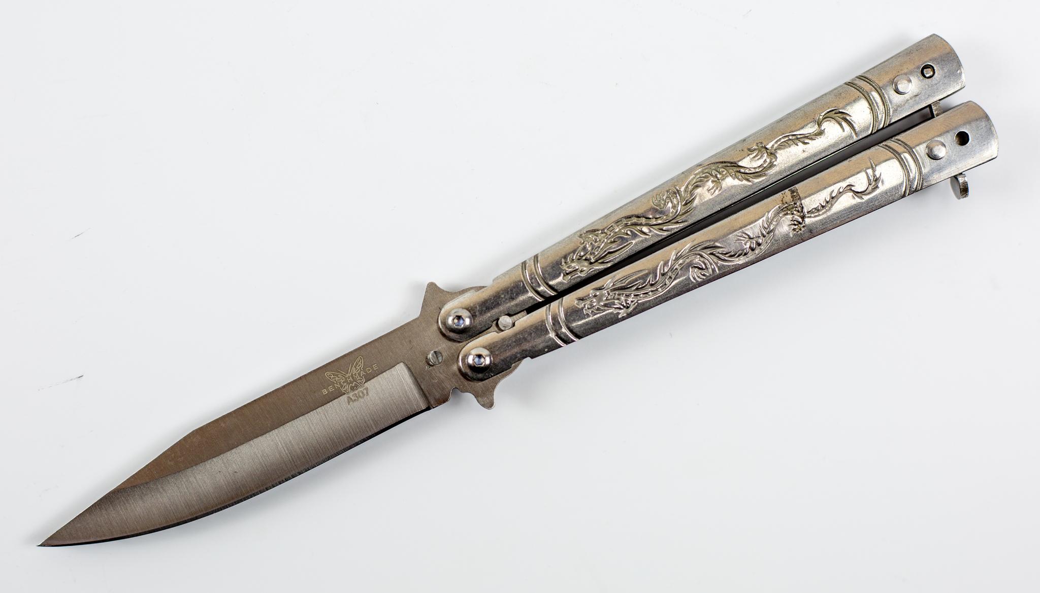 Нож балисонг