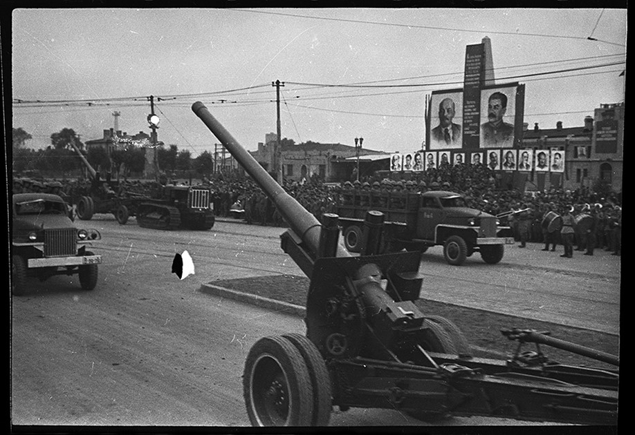 Парад войск СССР и КНР