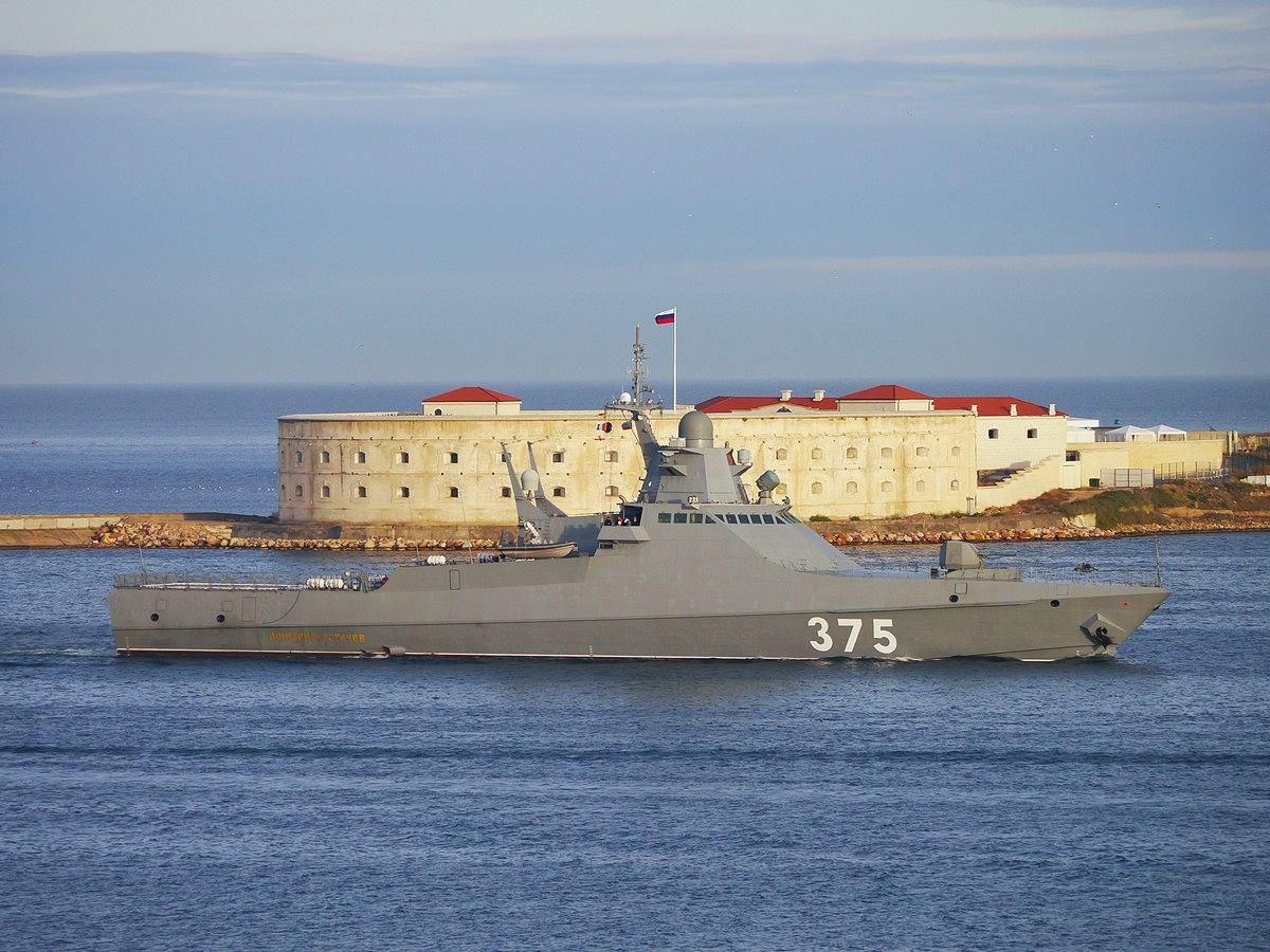 «Павел Державин» вышел патрулировать море