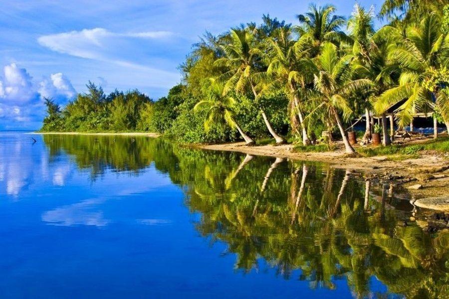 Побережье Микронезии