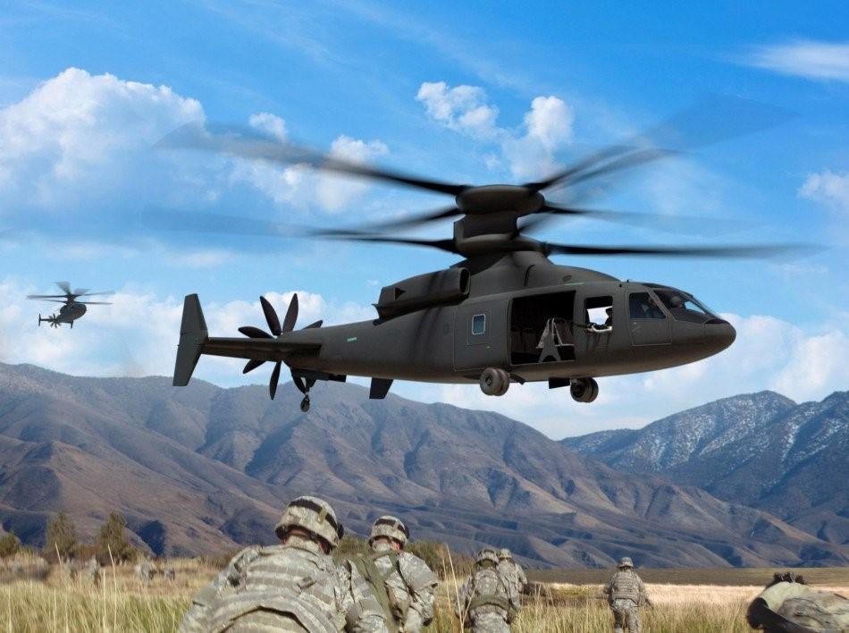 Полигонные испытания скоростного вертолета