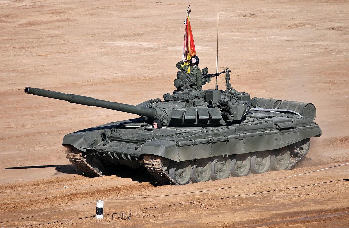 Полигонные испытания Т-80БВМ