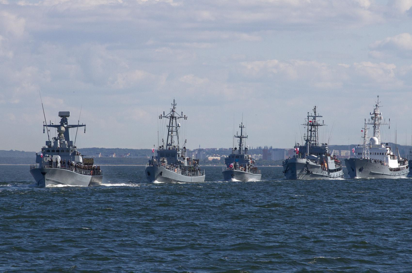 Польские военные катера