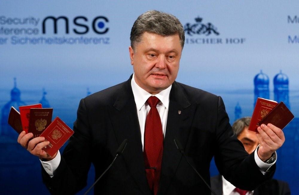 Президент Украины с российскими паспортами