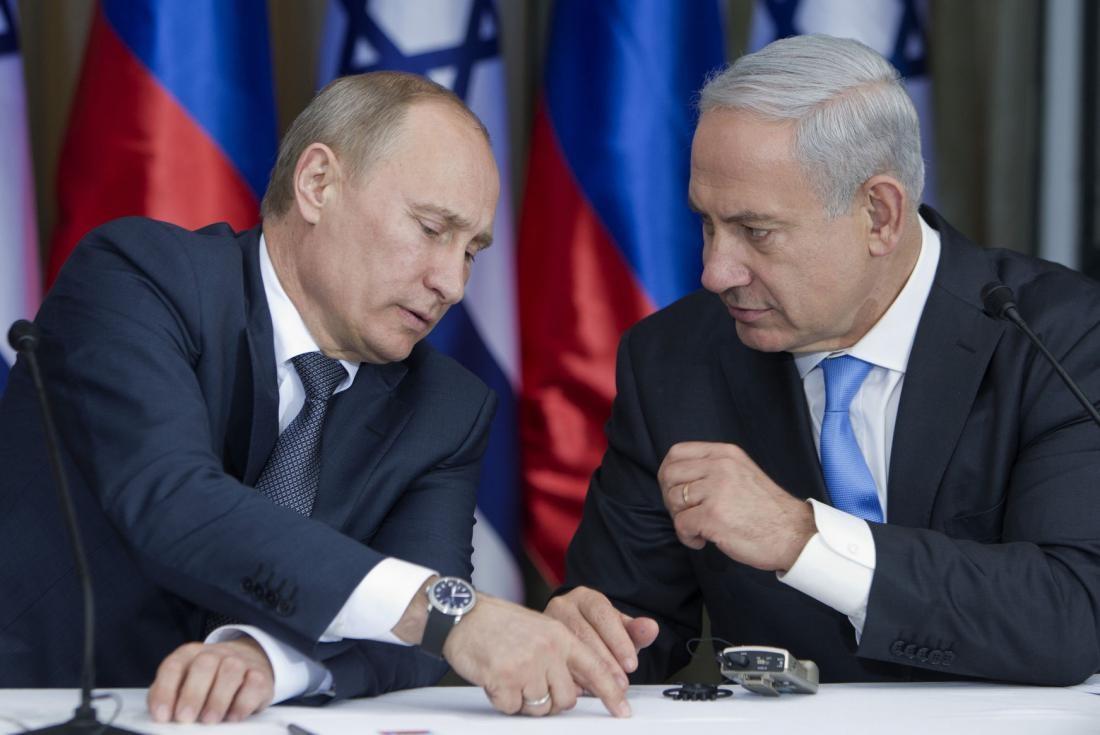 Президенты России и Израиля