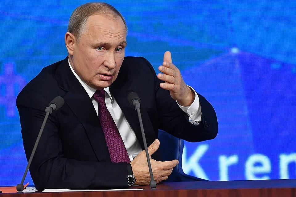 Путин заявляет о начале работ по созданию новых ракет