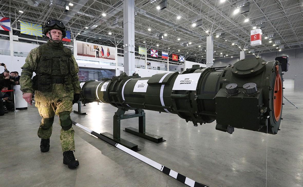 Ракета 9М729 на спецбрифинге