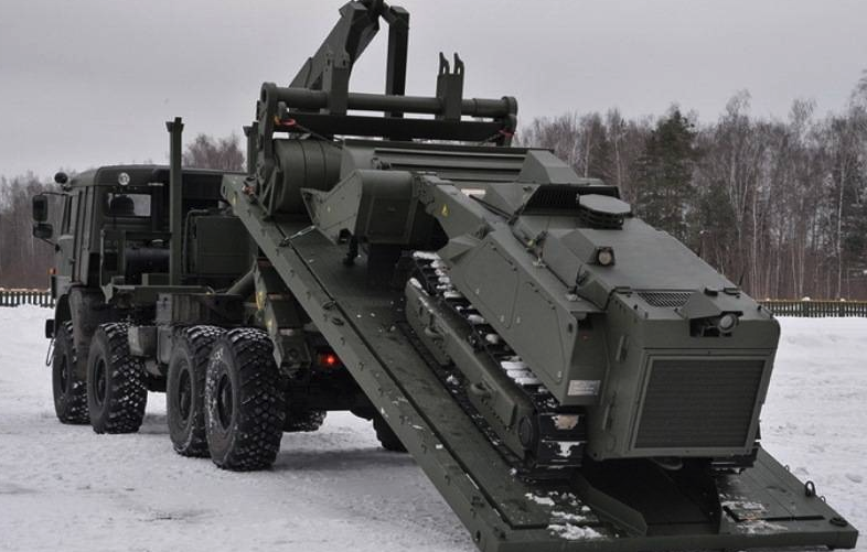 Робот для разминирования «Уран-6»