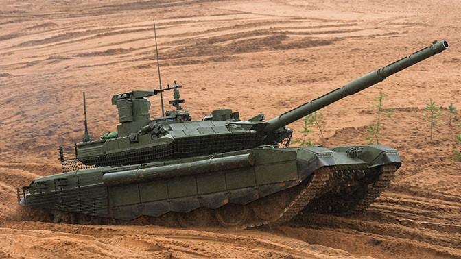 Российский танк Т-90М