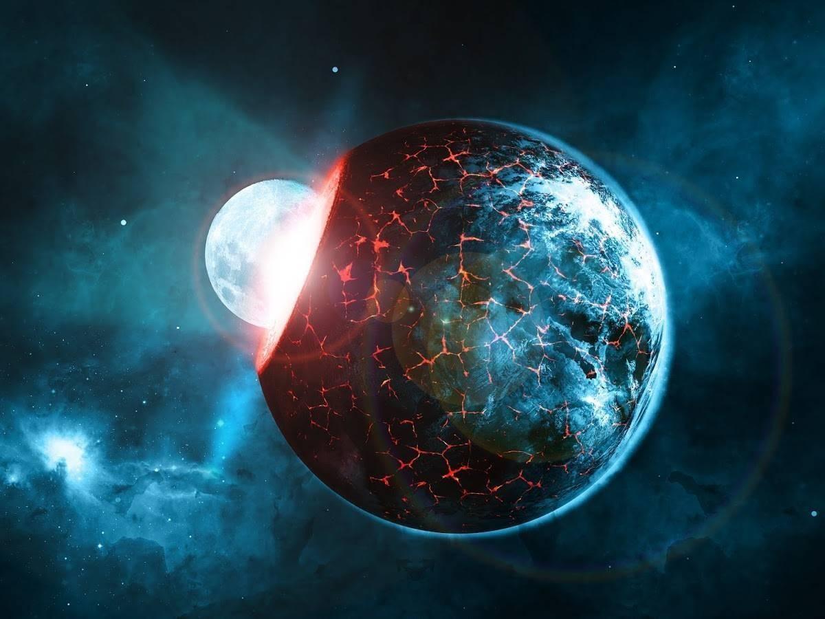 Рождение новой планеты