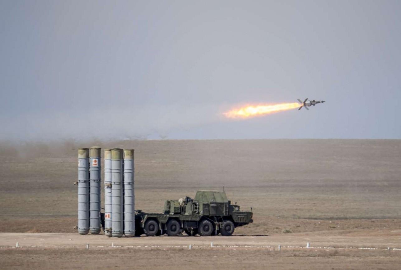 С-300 запустил ракету
