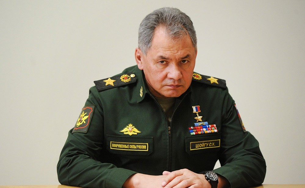 Сергей Шойгу, Минобороны РФ