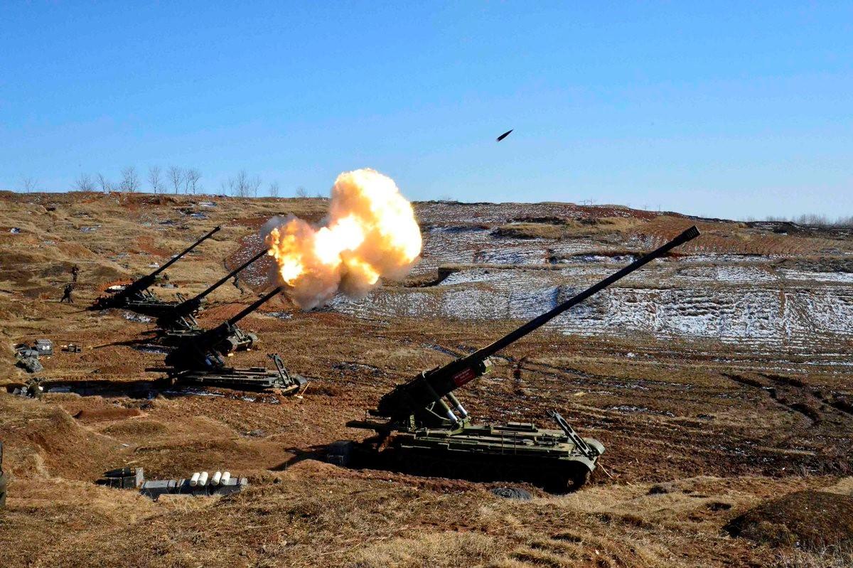 Северокорейская пушка «Коксан»