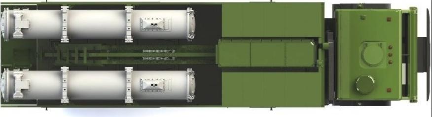 Схема расположения ракет