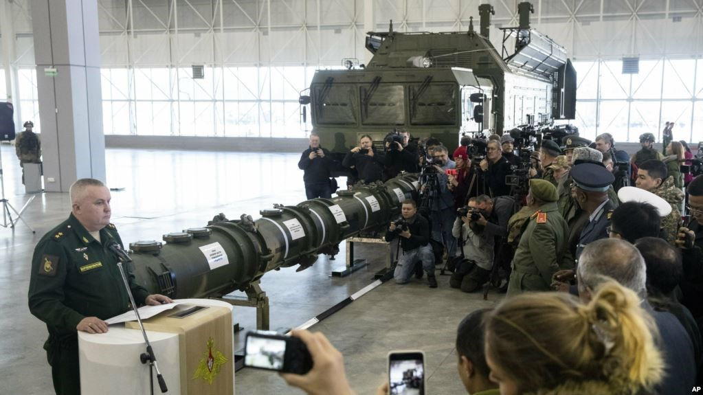 Спецбрифинг России о ракете 9М729