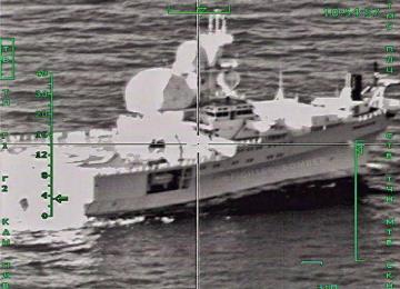 Су-24 взял на прицел норвежское разведывательное судно