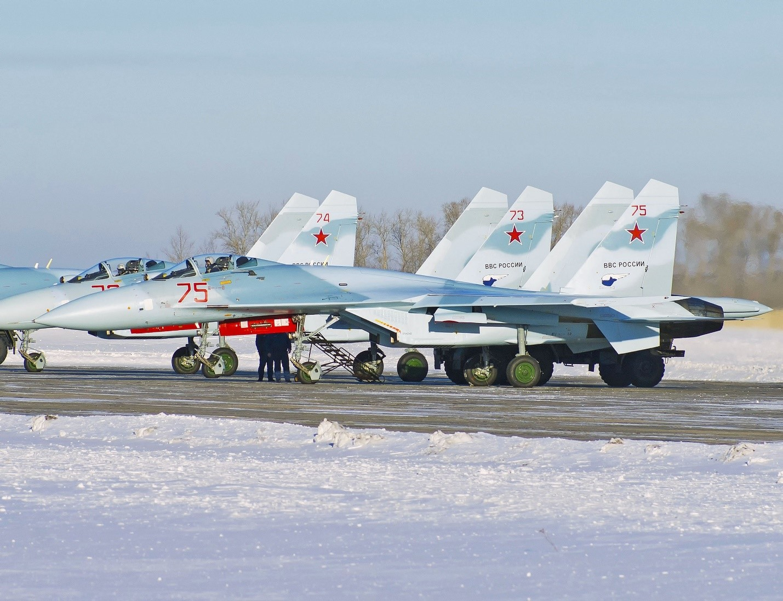 Су-27 в Калининграде