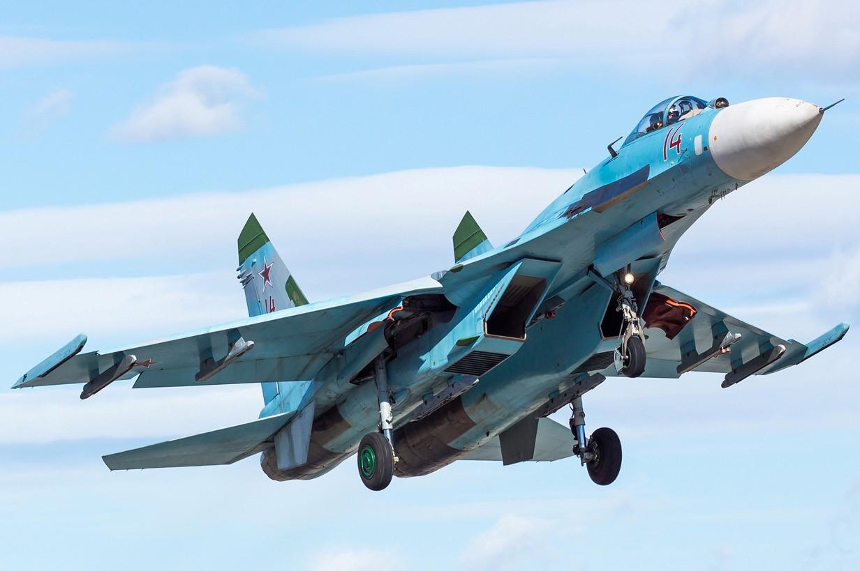 Су-27 ВВС РФ