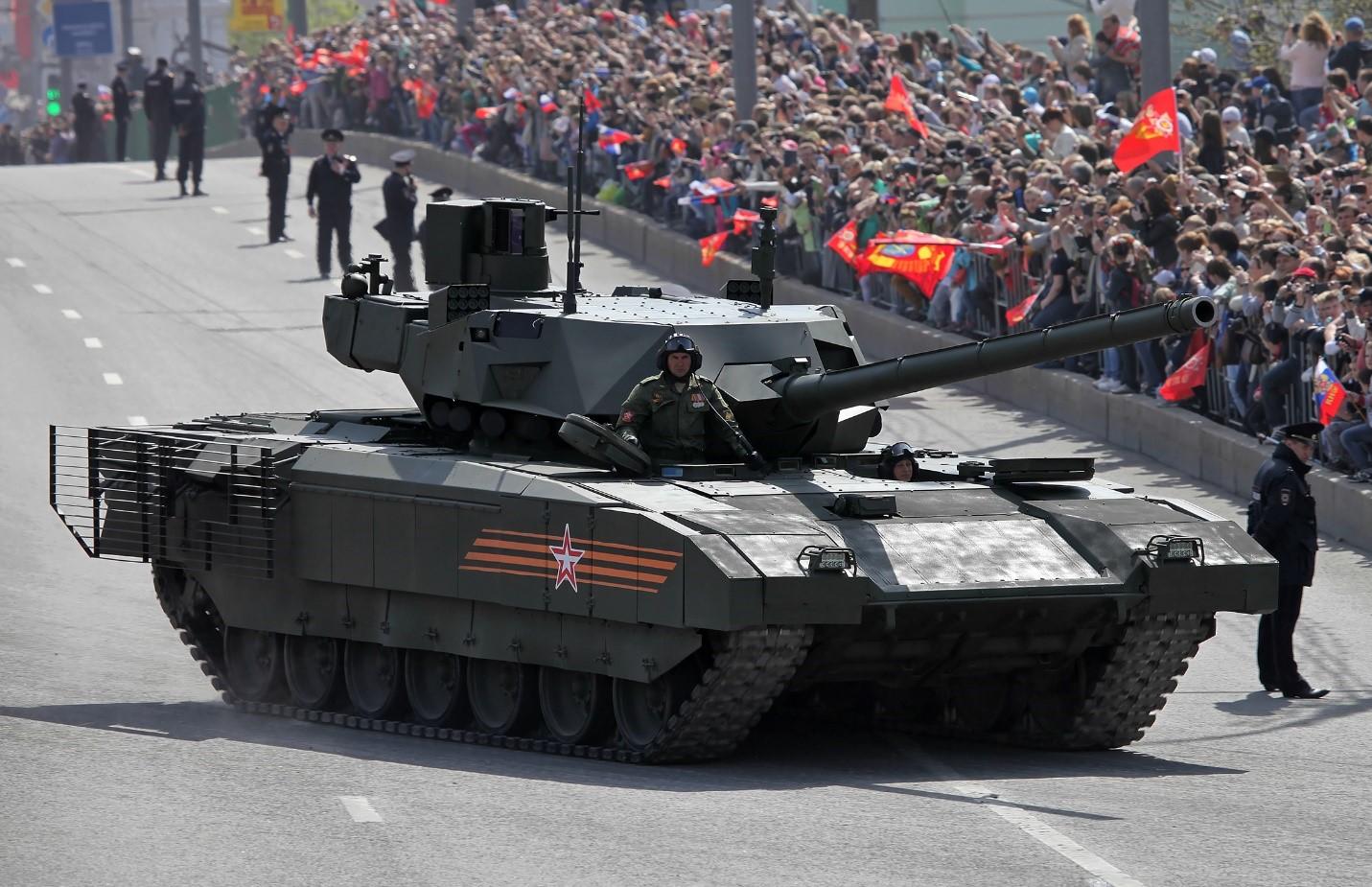 Танк Т-14 на Параде в Москве
